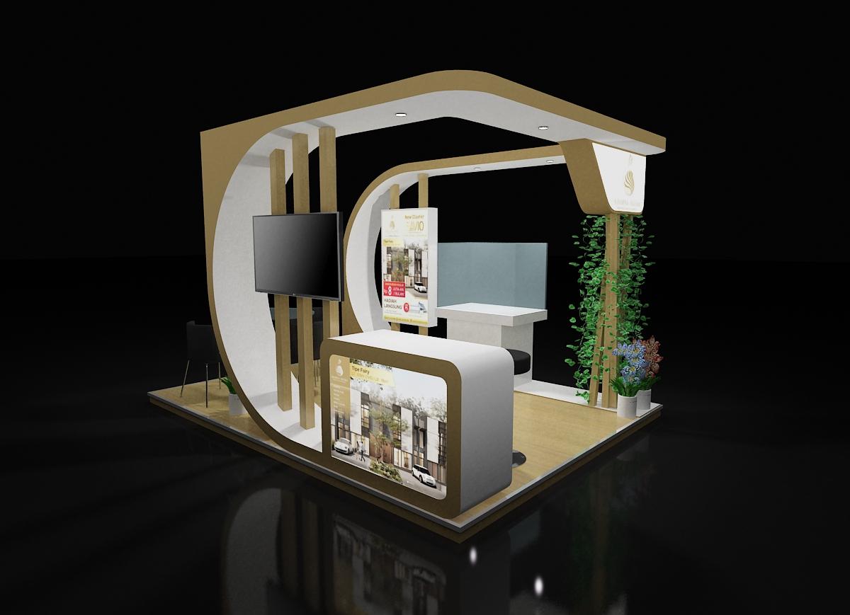 booth stand pameran